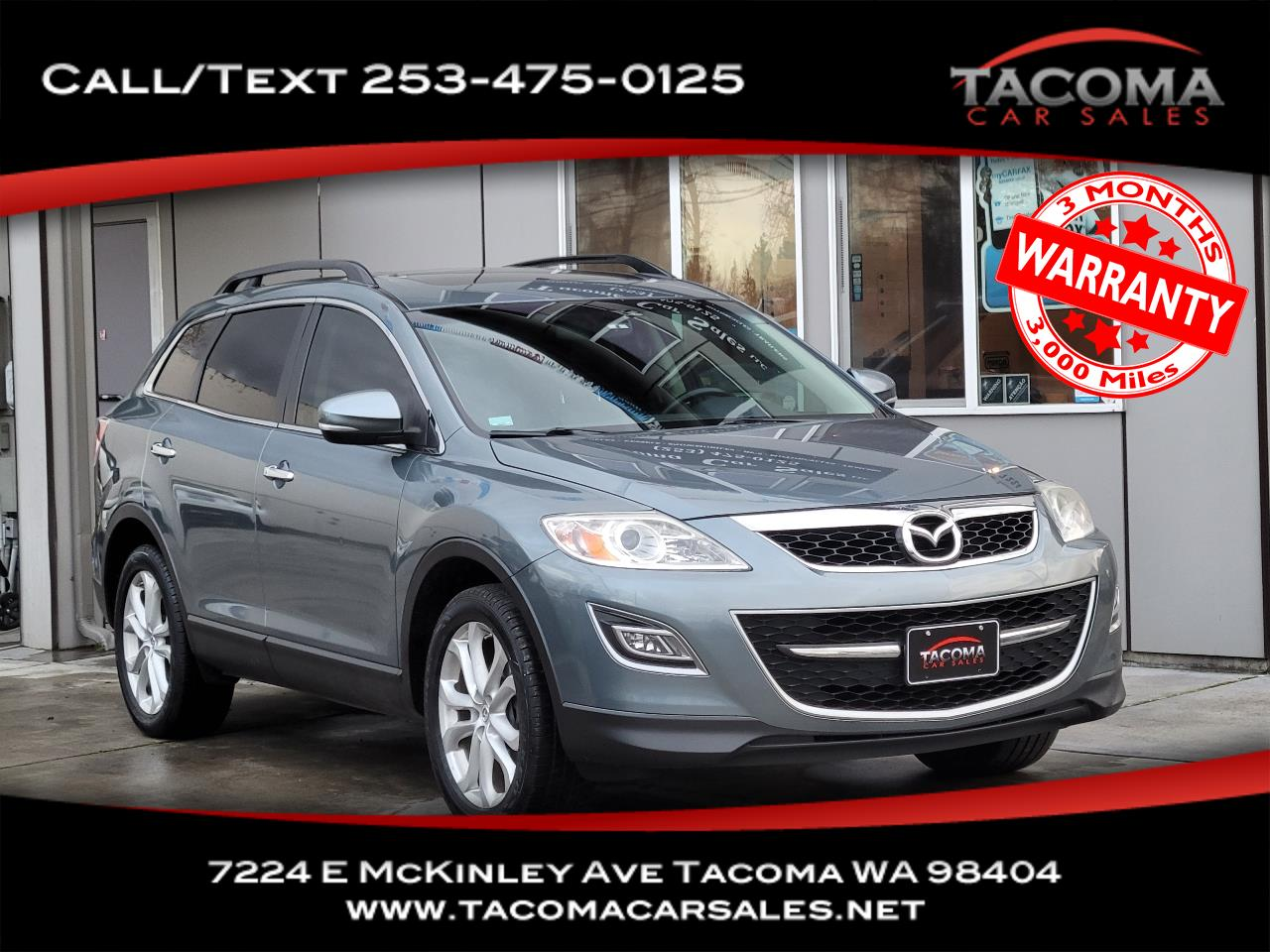 Mazda CX-9 AWD 4dr Grand Touring 2012