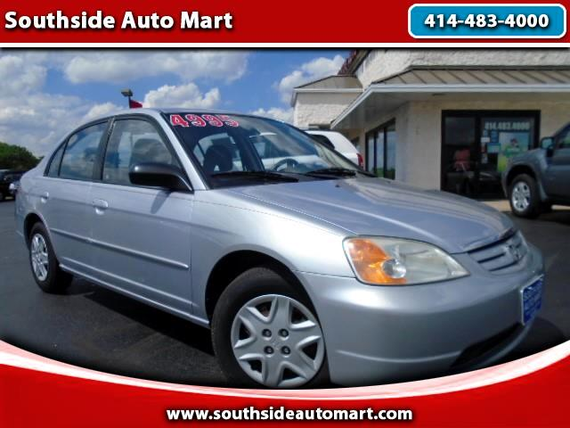 2003 Honda Civic LX Sedan 4-spd AT