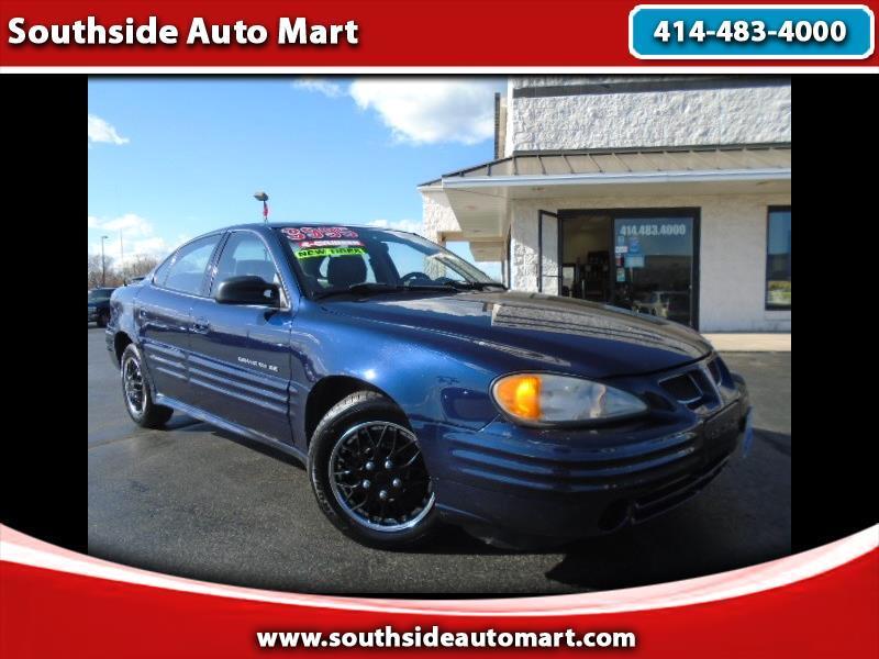 2001 Pontiac Grand Am SE Sedan