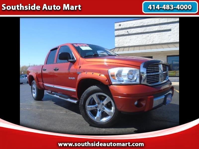 2008 Dodge Ram 1500 Laramie Quad Cab 4WD