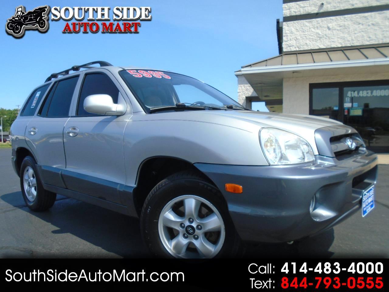 Hyundai Santa Fe 4dr GLS FWD 2.7L Auto 2005