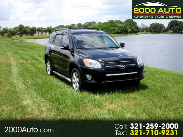 2011 Toyota RAV4 FWD 4dr 4-cyl 4-Spd AT Ltd (Natl)