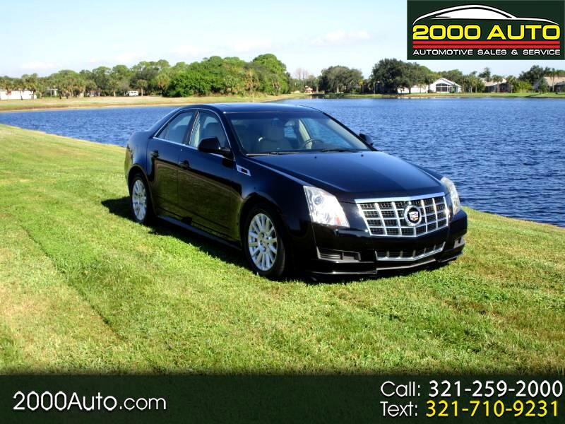2013 Cadillac CTS 4dr Sdn 3.0L Luxury RWD