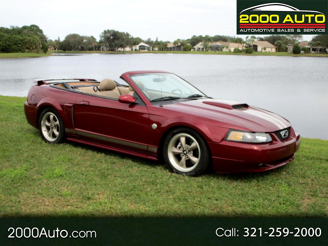 Ford Mustang GT Deluxe Convertible 2004