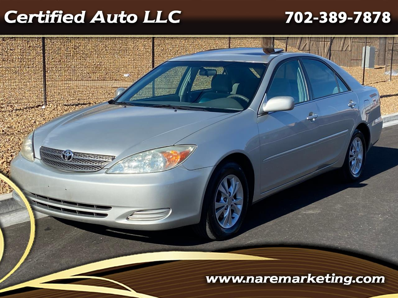 Toyota Camry 4dr Sdn XLE V6 Auto (Natl) 2004
