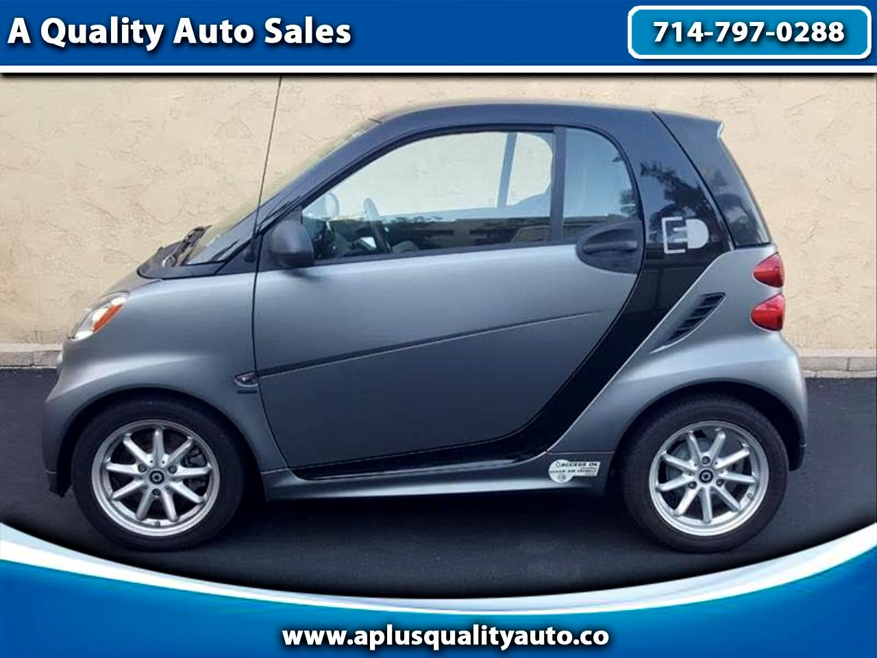 smart Fortwo electric coupe 2016