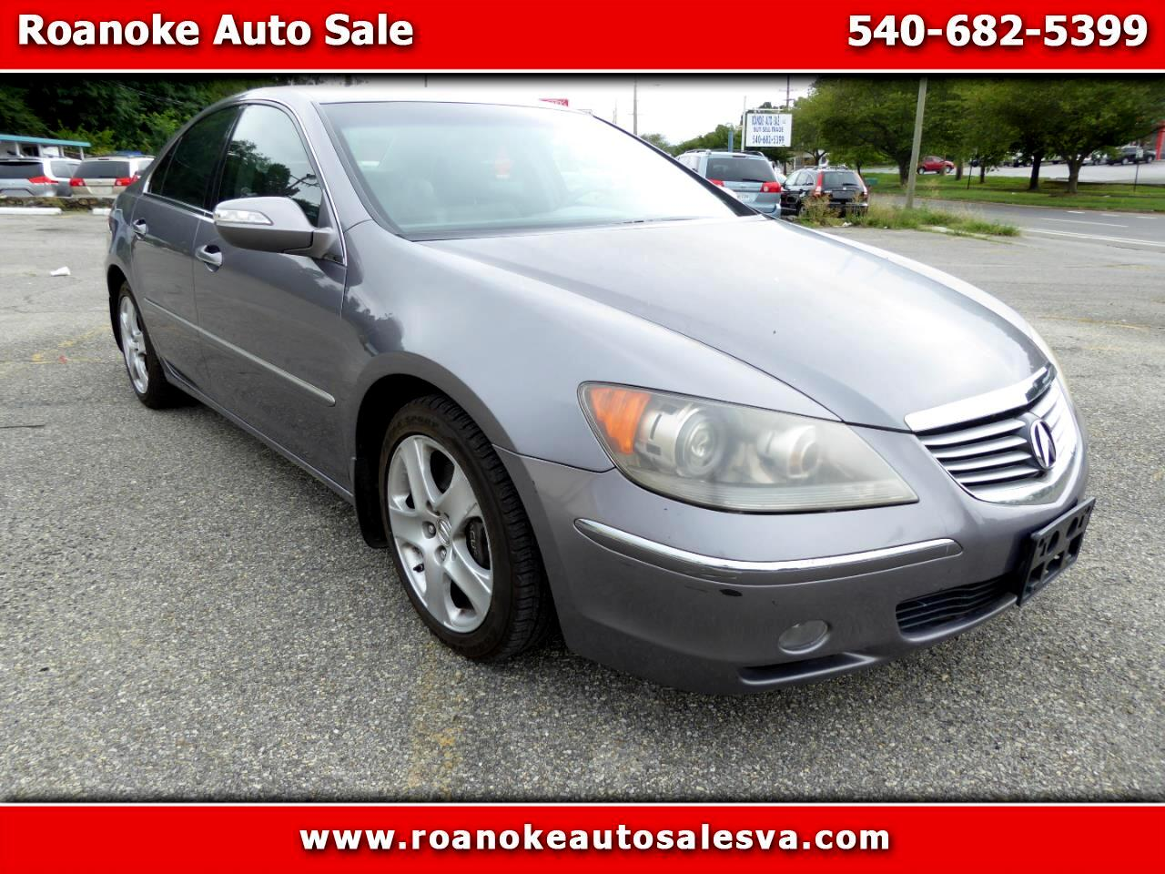 Acura RL 3.5RL with Navigation System 2005