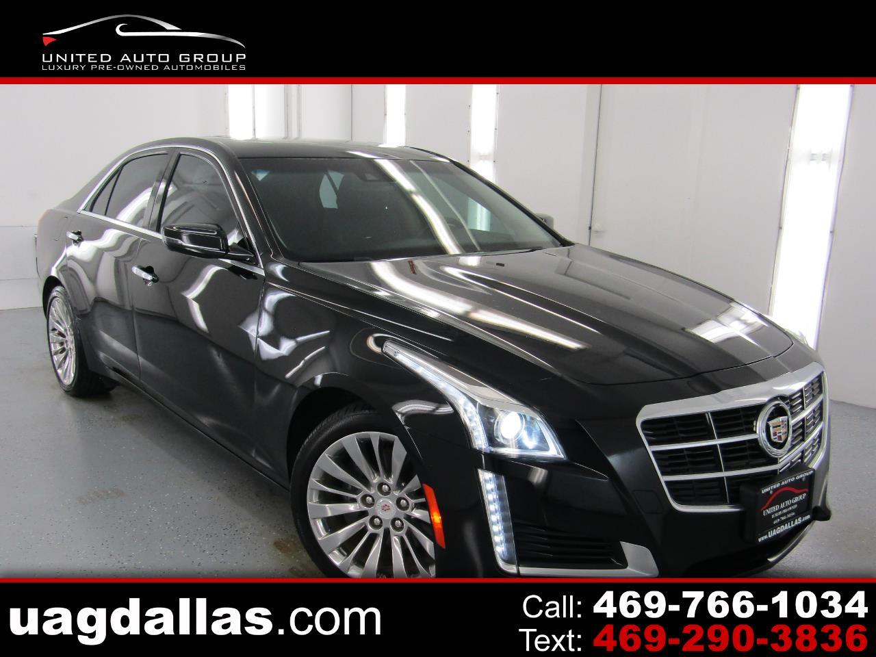 Cadillac CTS Sedan 4dr Sdn 2.0L Turbo Luxury RWD 2014
