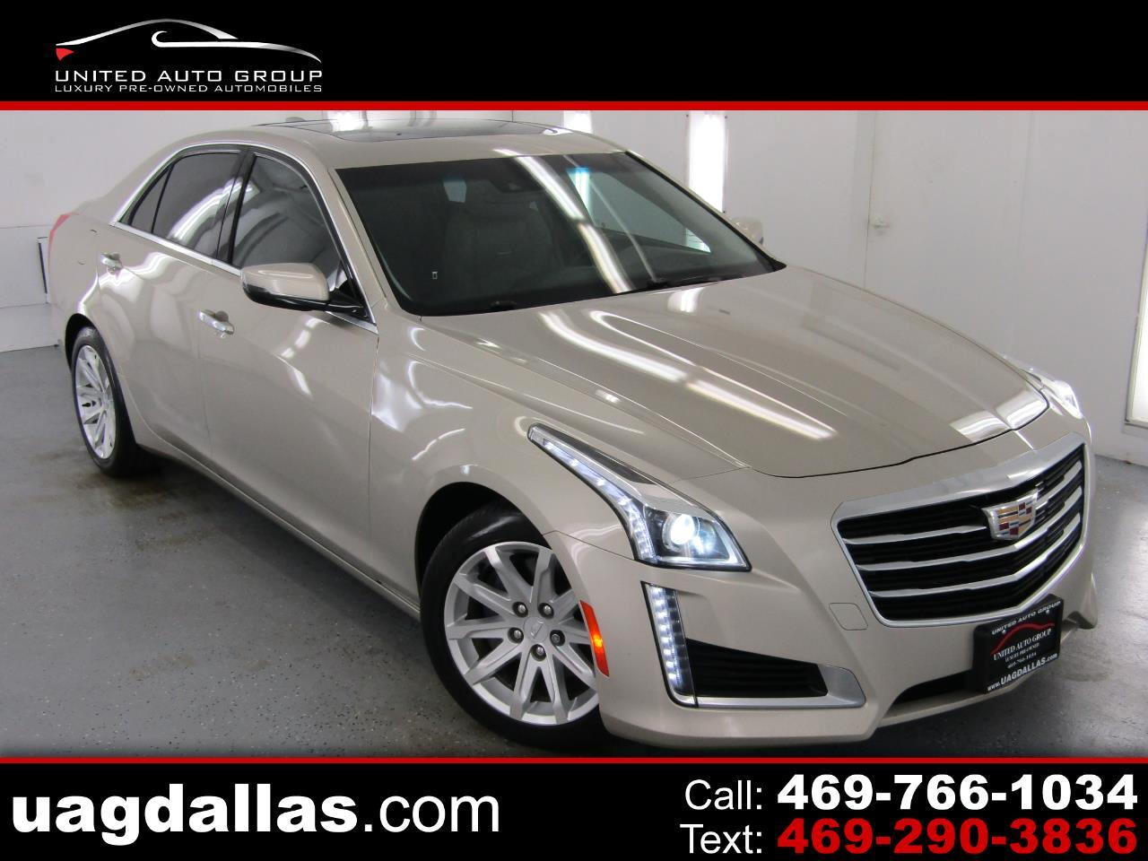 Cadillac CTS Sedan 4dr Sdn 3.6L Luxury RWD 2015