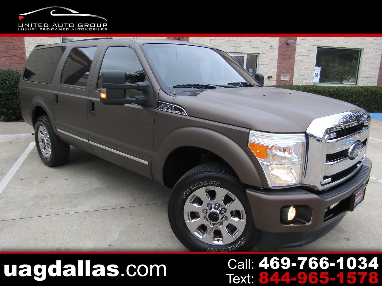 """Ford Excursion 137"""" WB 6.0L Limited 4WD 2004"""