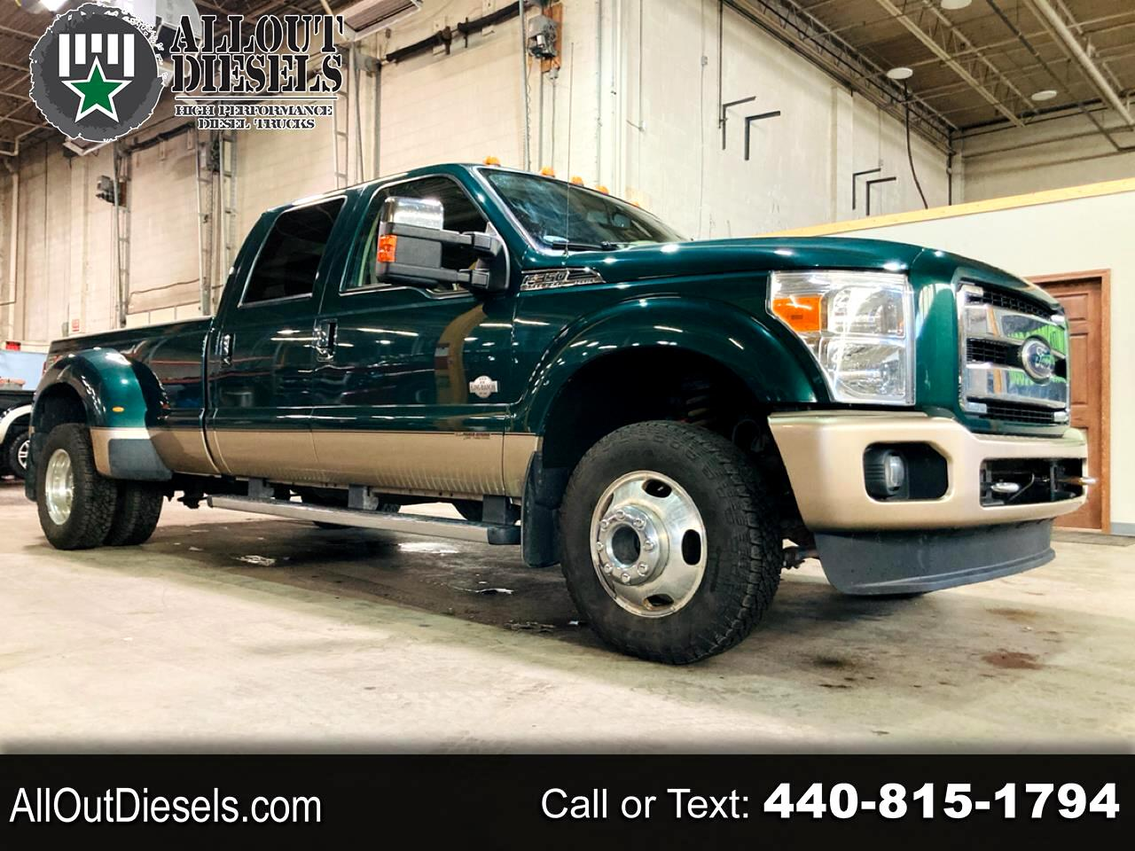 "Ford Super Duty F-350 DRW 4WD Crew Cab 172"" King Ranch 2011"