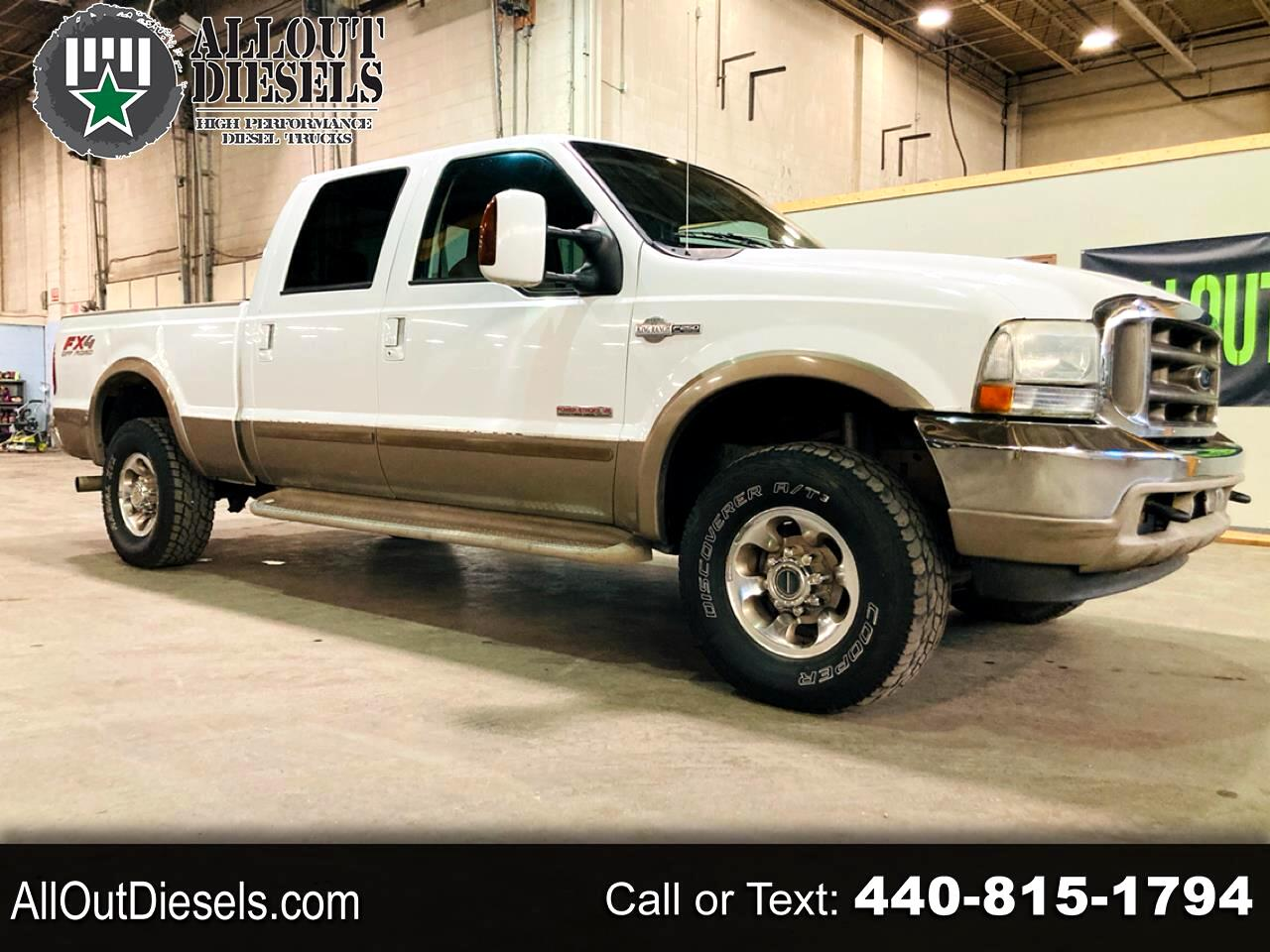 "Ford Super Duty F-250 4WD Crew Cab 156"" King Ranch 2004"