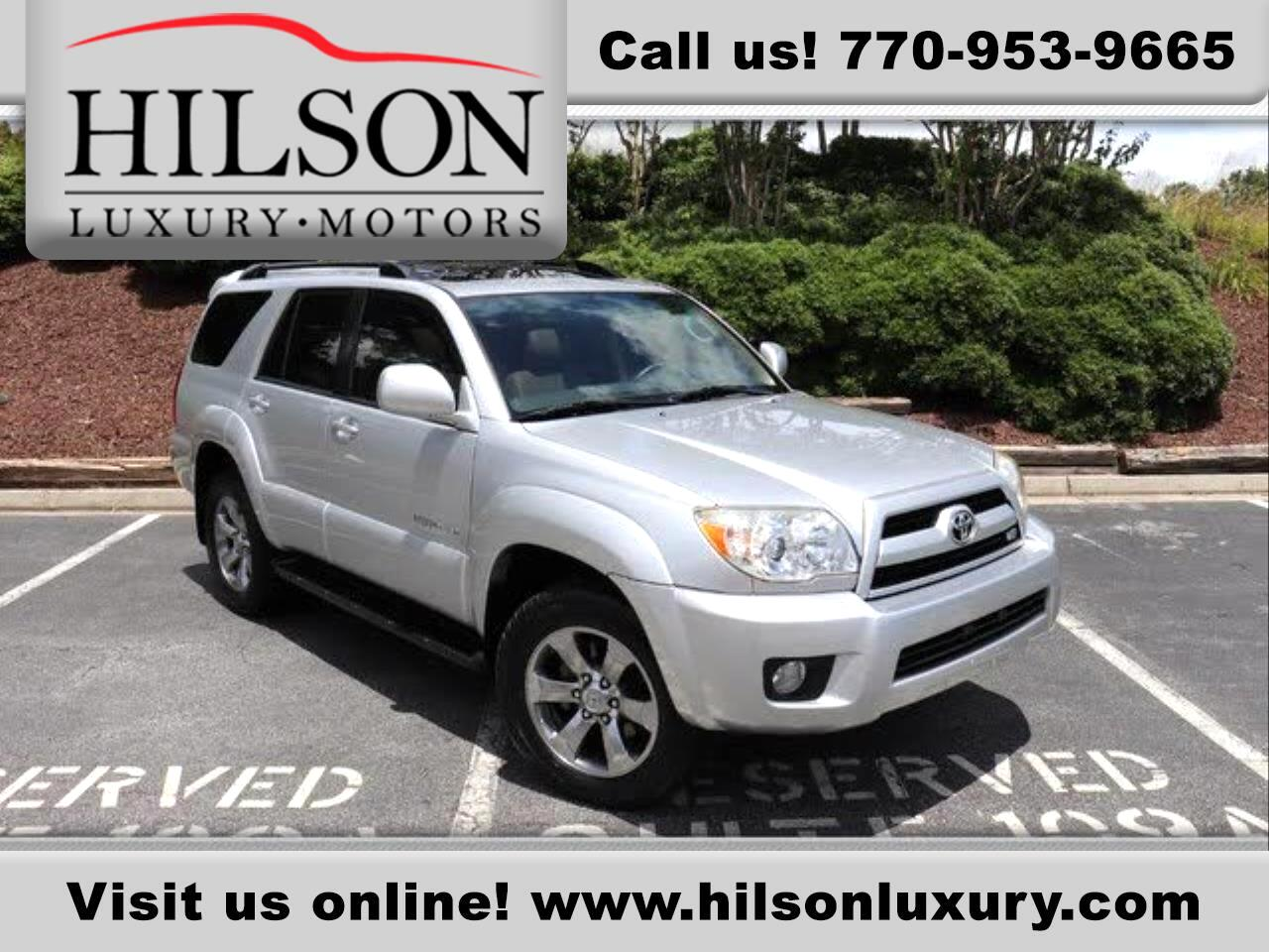Toyota 4Runner 4WD 4dr V8 Limited (Natl) 2008