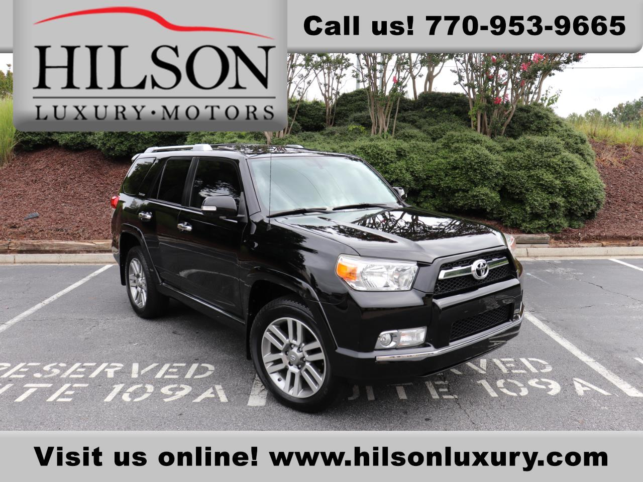 Toyota 4Runner Limited 4WD 2013