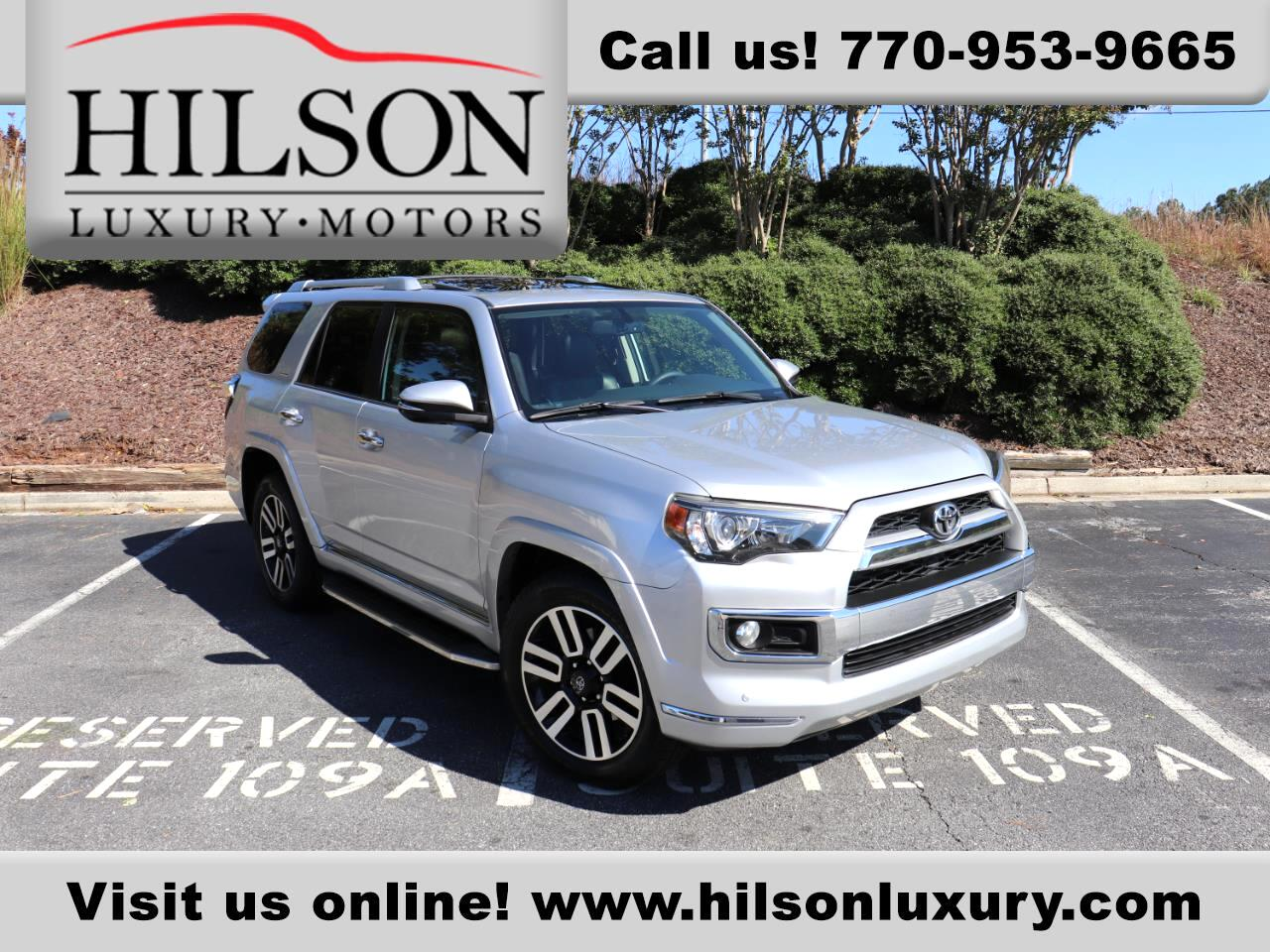 Toyota 4Runner Limited 2WD 2014