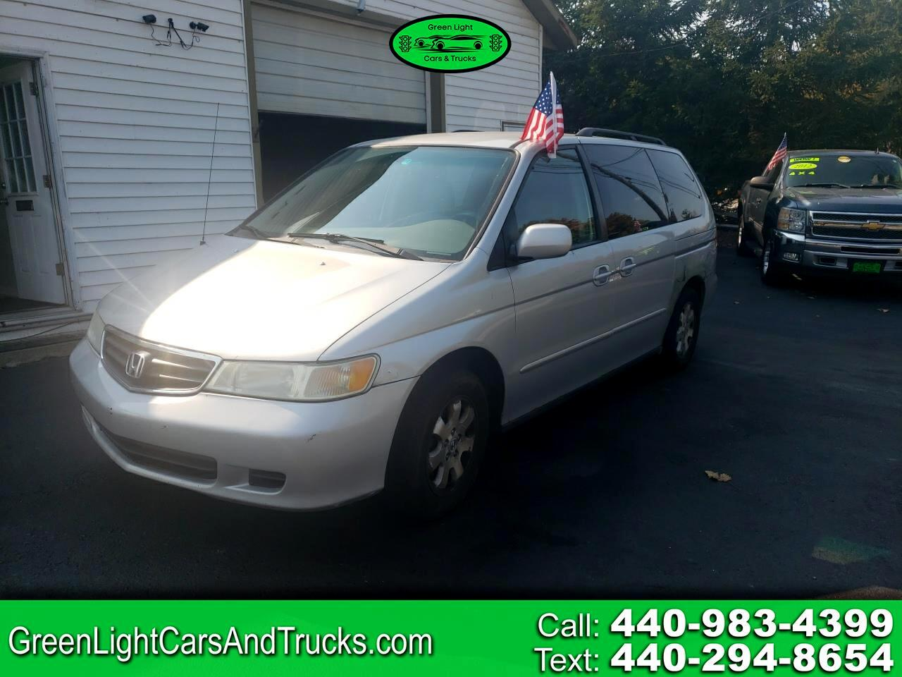 used 2004 honda odyssey 5dr ex l navi w navigation leather for sale in madison oh 44057 green light cars trucks starr s cars truck inc