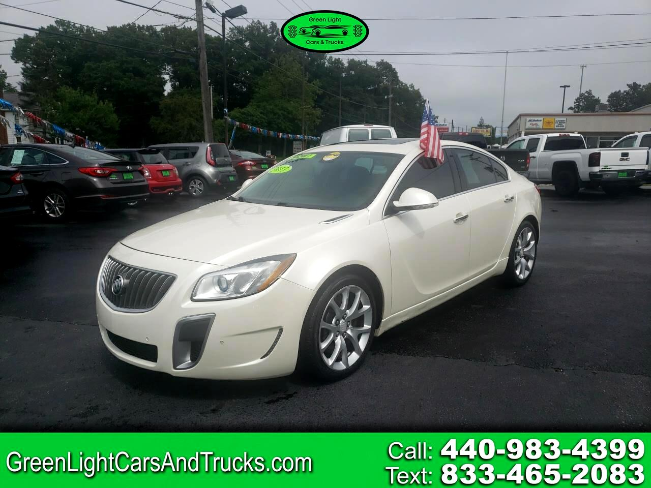 Buick Regal 4dr Sdn GS 2013