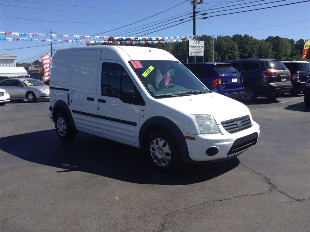 """Ford Transit Connect 114.6"""" XLT w/rear door privacy glass 2013"""