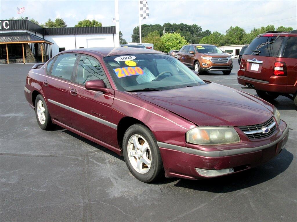 Chevrolet Impala 4dr Sdn LS 2003