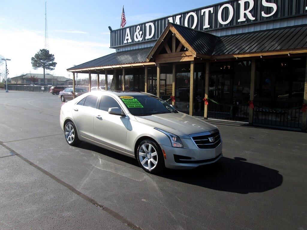 Cadillac ATS Sedan 4dr Sdn 2.5L Standard RWD 2016