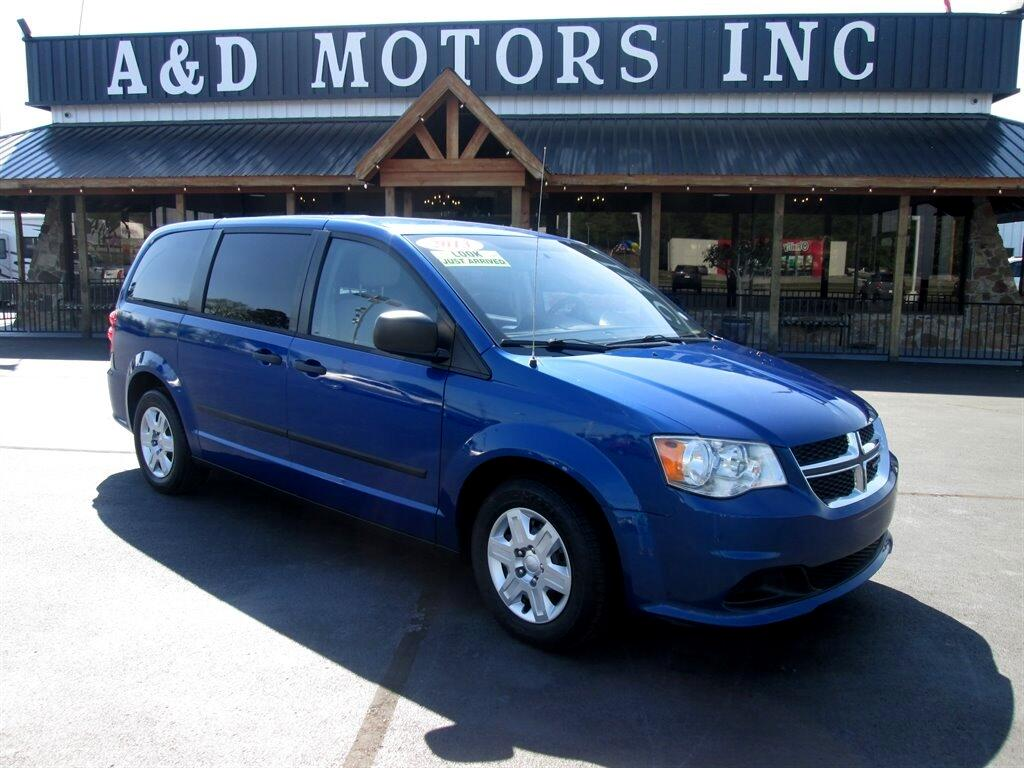Dodge Grand Caravan 4dr Wgn American Value Pkg 2013