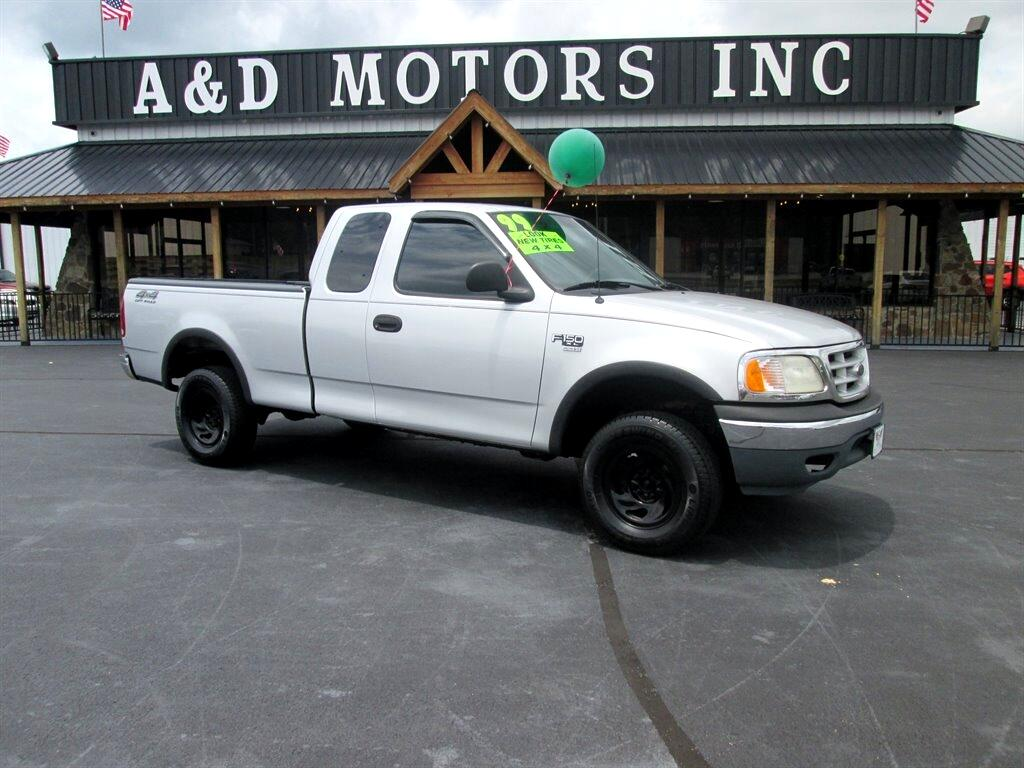 """Ford F-150 Supercab 139"""" 4WD 1999"""
