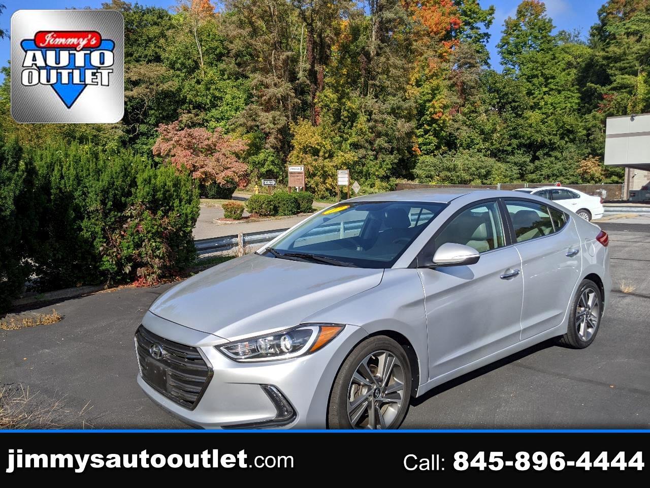 Hyundai Elantra Limited 2.0L Auto (Alabama) *Ltd Avail* 2017