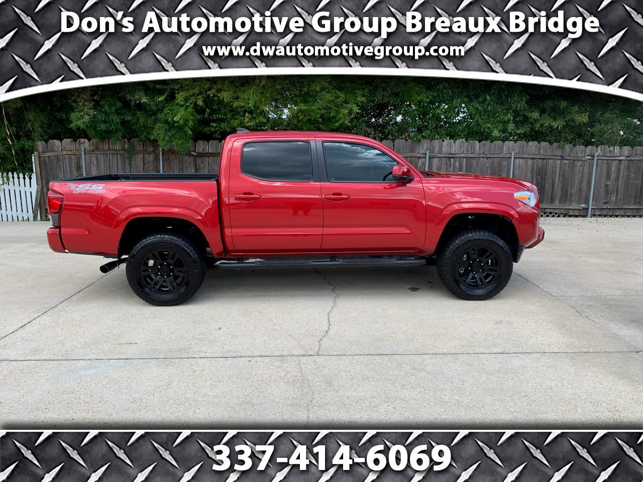 Toyota Tacoma 2WD SR5 Double Cab 5' Bed I4 AT (Natl) 2019