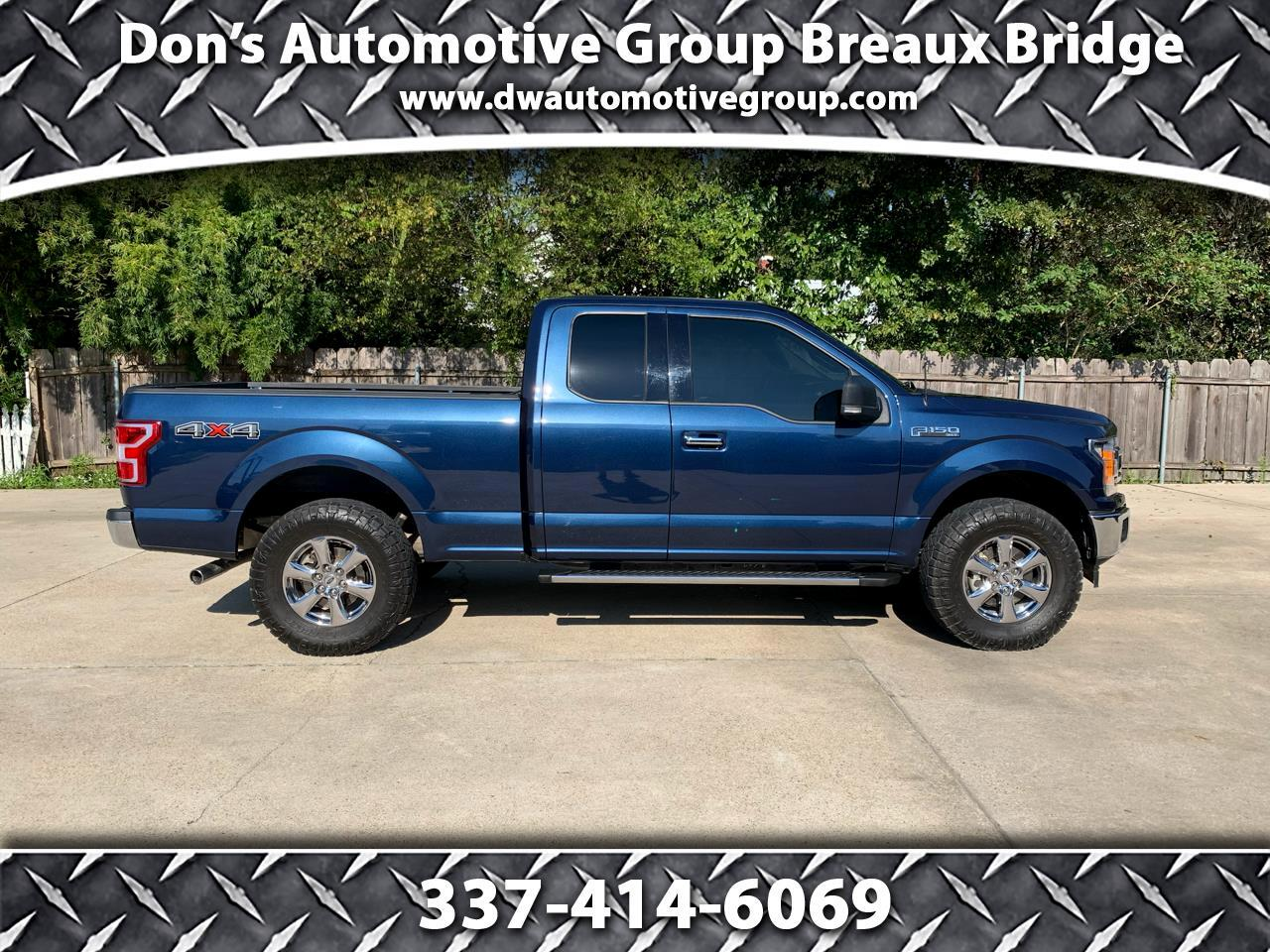 Ford F150 XLT Supercab 4WD 2018