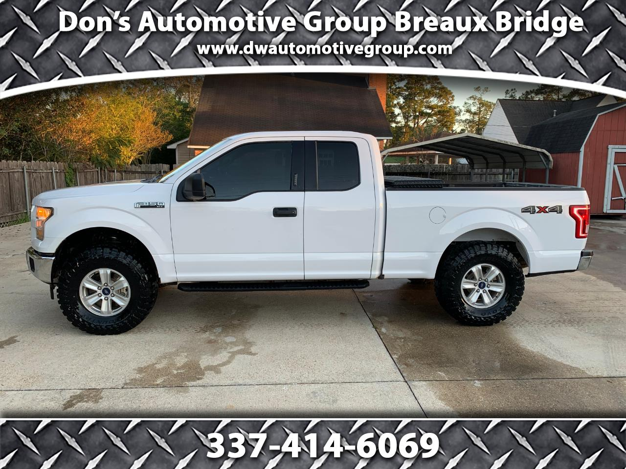 Ford F-150 Lariat 4WD SuperCab 8' Box 2017