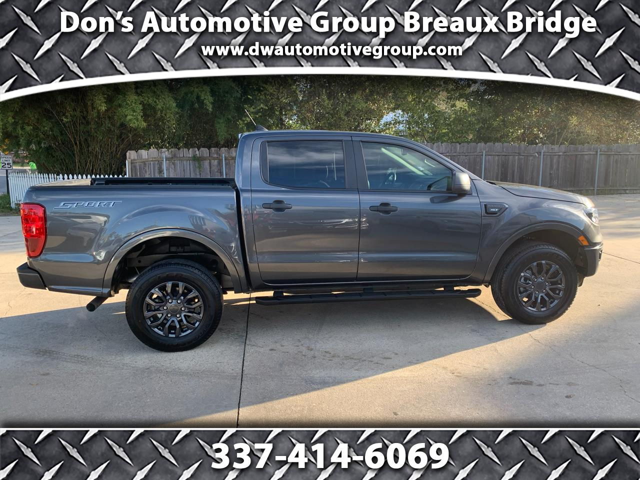 Ford Ranger XLT 2WD SuperCrew 5' Box 2020
