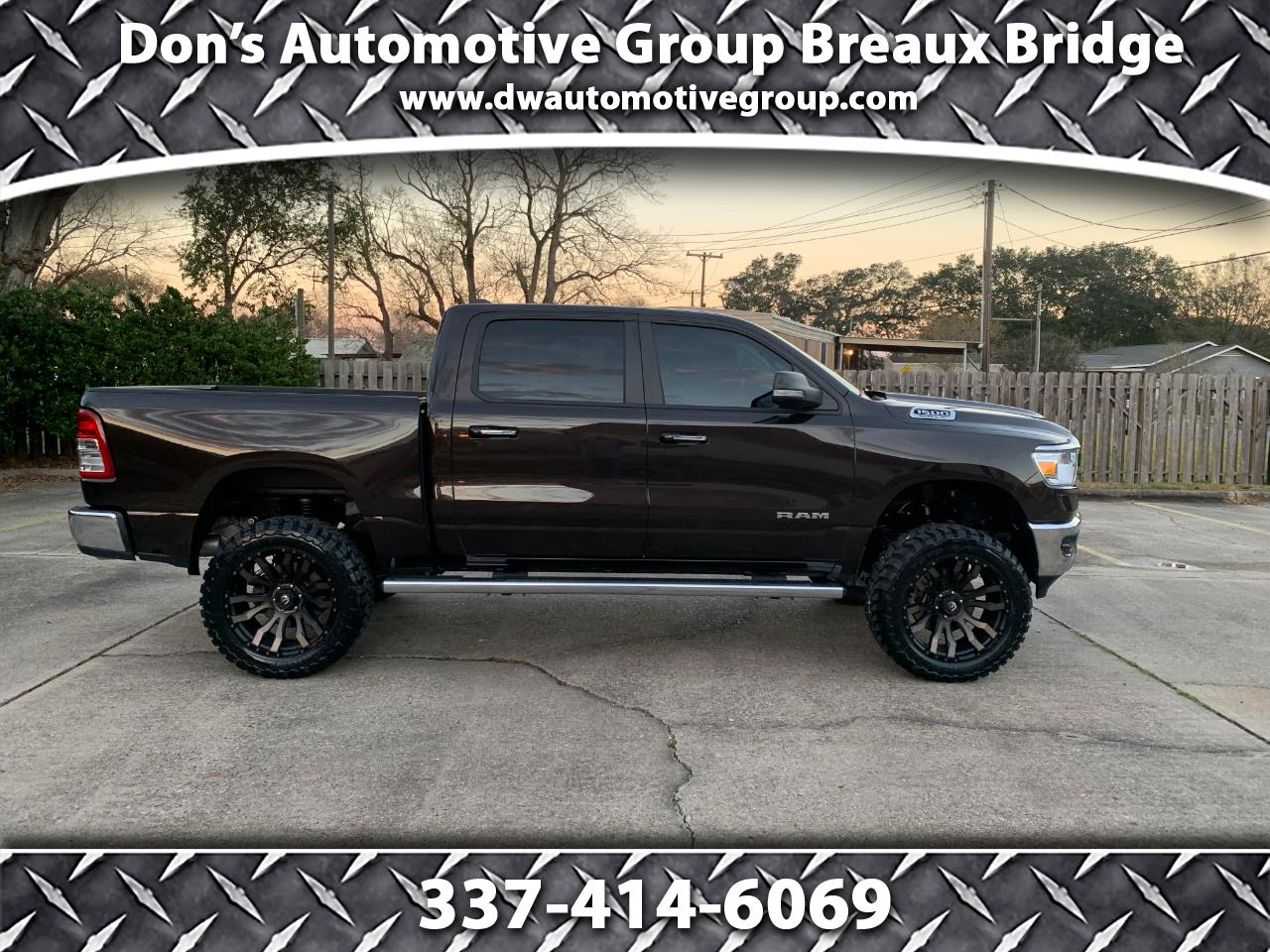 "RAM 1500 Big Horn/Lone Star 4x4 Crew Cab 5'7"" Box 2019"
