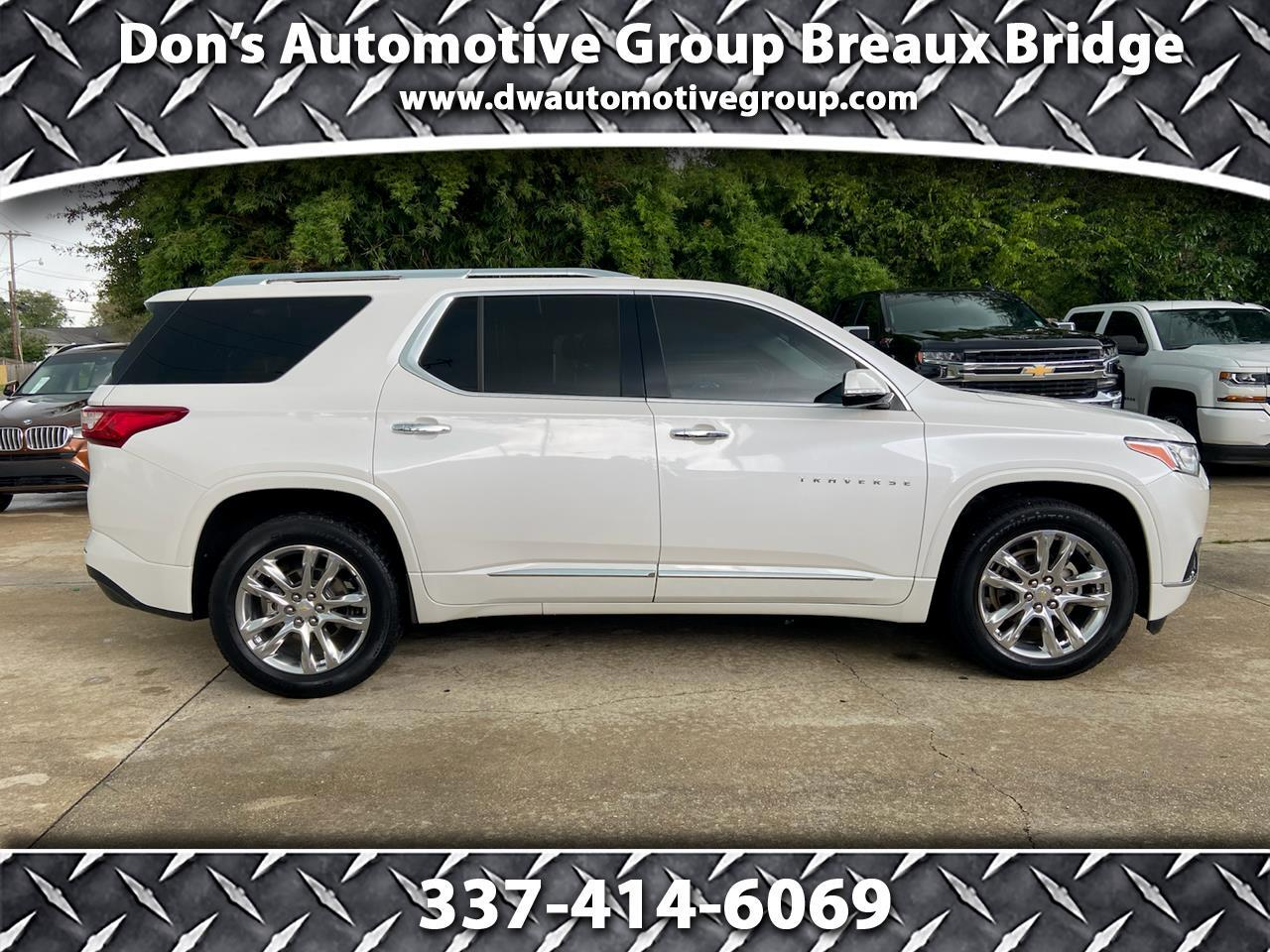Chevrolet Traverse AWD 4dr High Country w/2LZ 2018