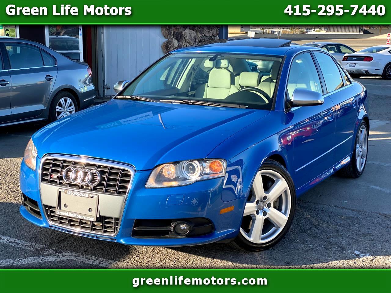2005 Audi S4 2005.5 4dr Sdn quattro Manual
