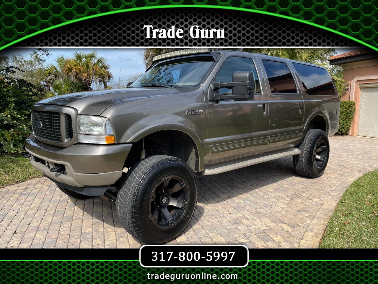 "Ford Excursion 137"" WB 6.8L Limited 4WD 2003"