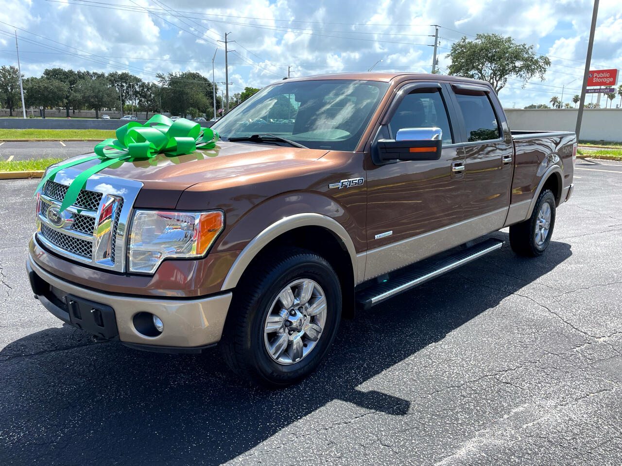 """Ford F-150 2WD SuperCab 145"""" Lariat 2012"""
