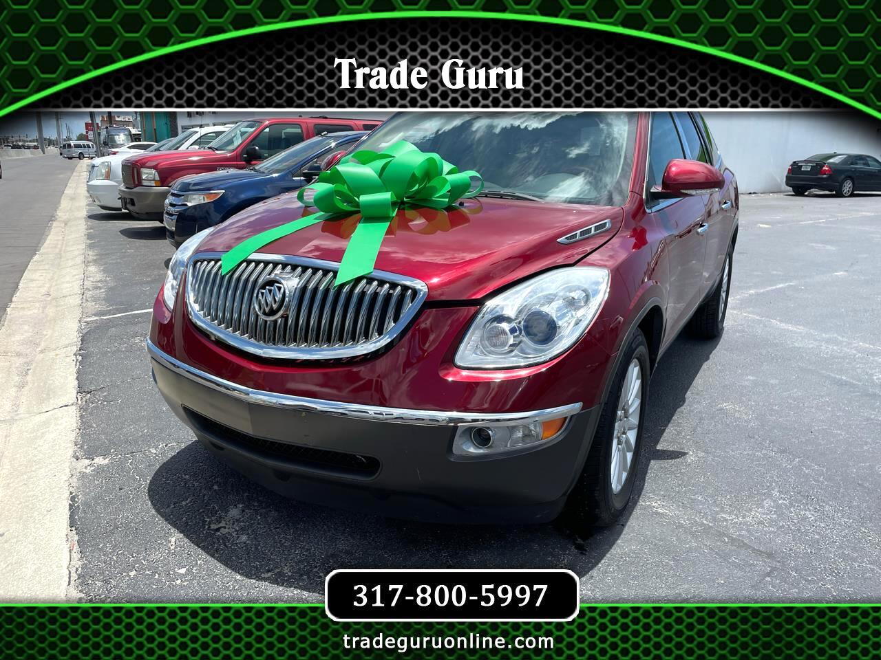 Buick Enclave FWD 4dr CXL w/1XL 2010