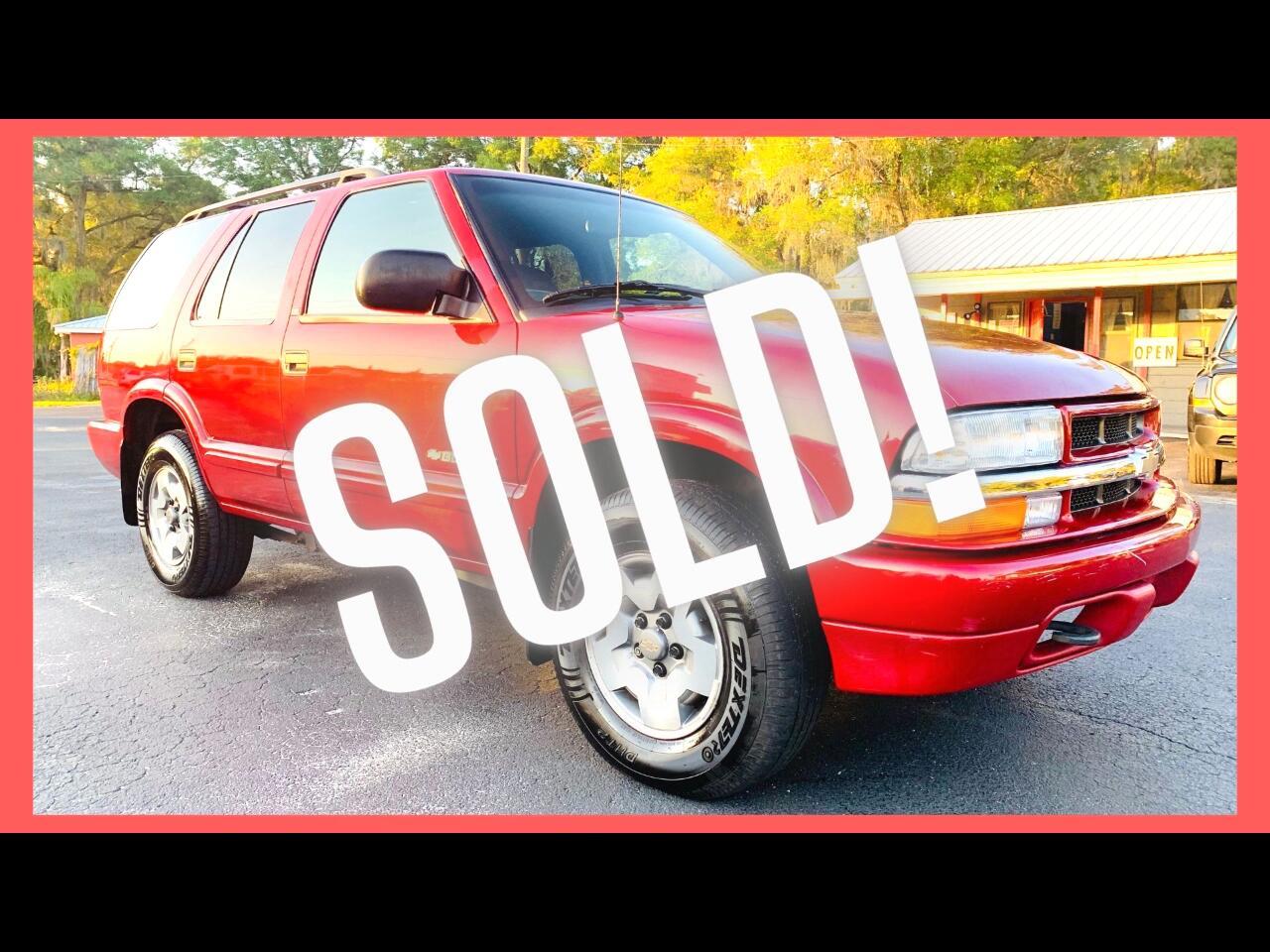 Chevrolet Blazer 4-Door 4WD LS 2003