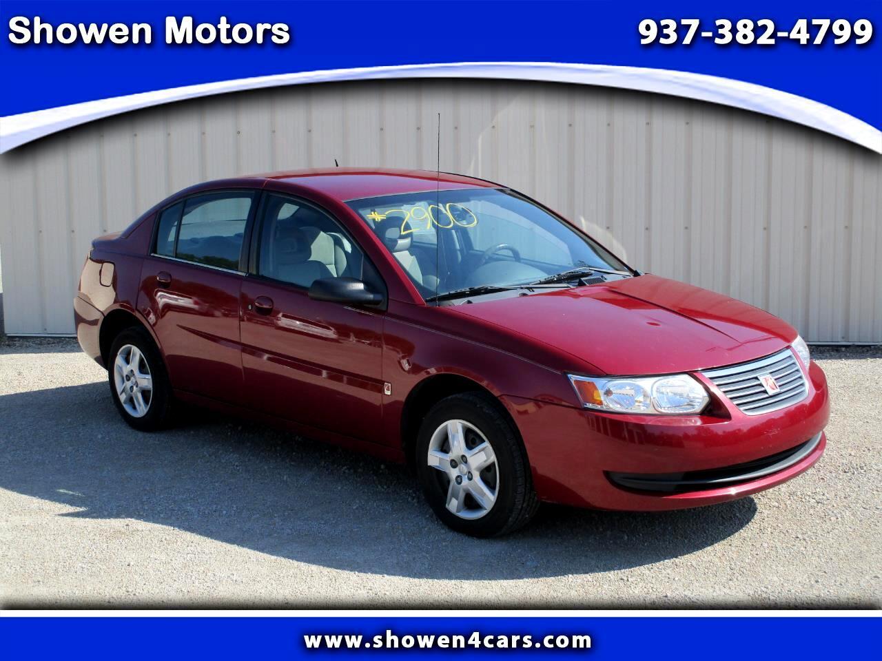 2006 Saturn ION Sedan 2 w/Auto
