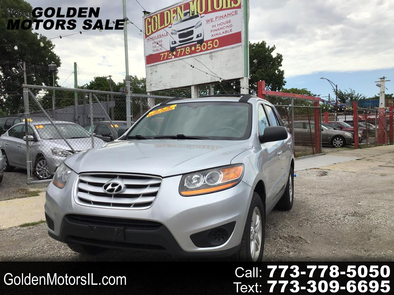 Used 2010 Hyundai Santa Fe Gls 2 4 Awd For Sale In Chicago Il 60636 Golden Motors Sale