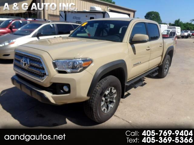 2017 Toyota Tacoma TRD DOUBLE CAB LONG BED V6 6AT 4WD