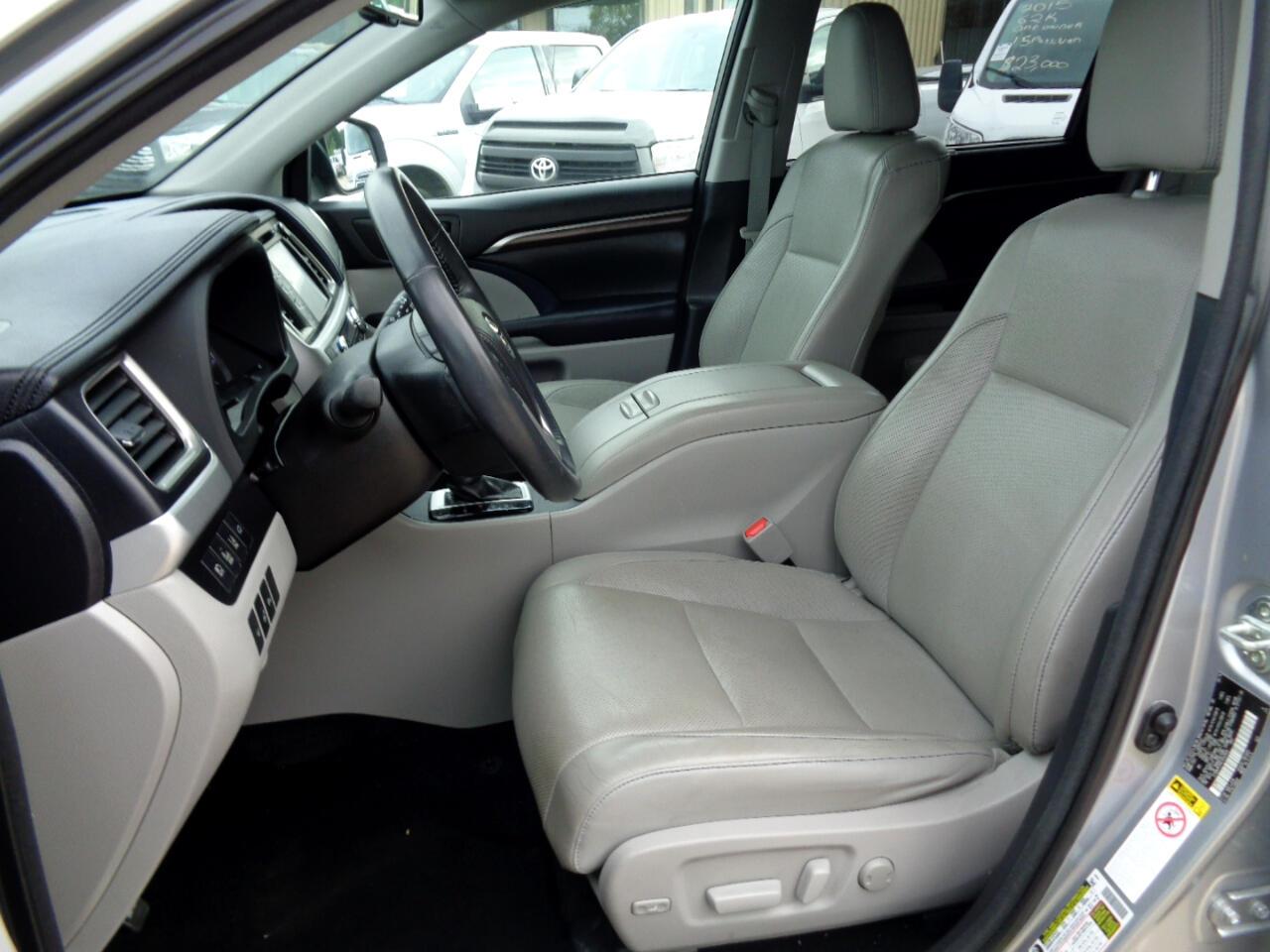 Toyota Highlander Limited AWD V6 2014