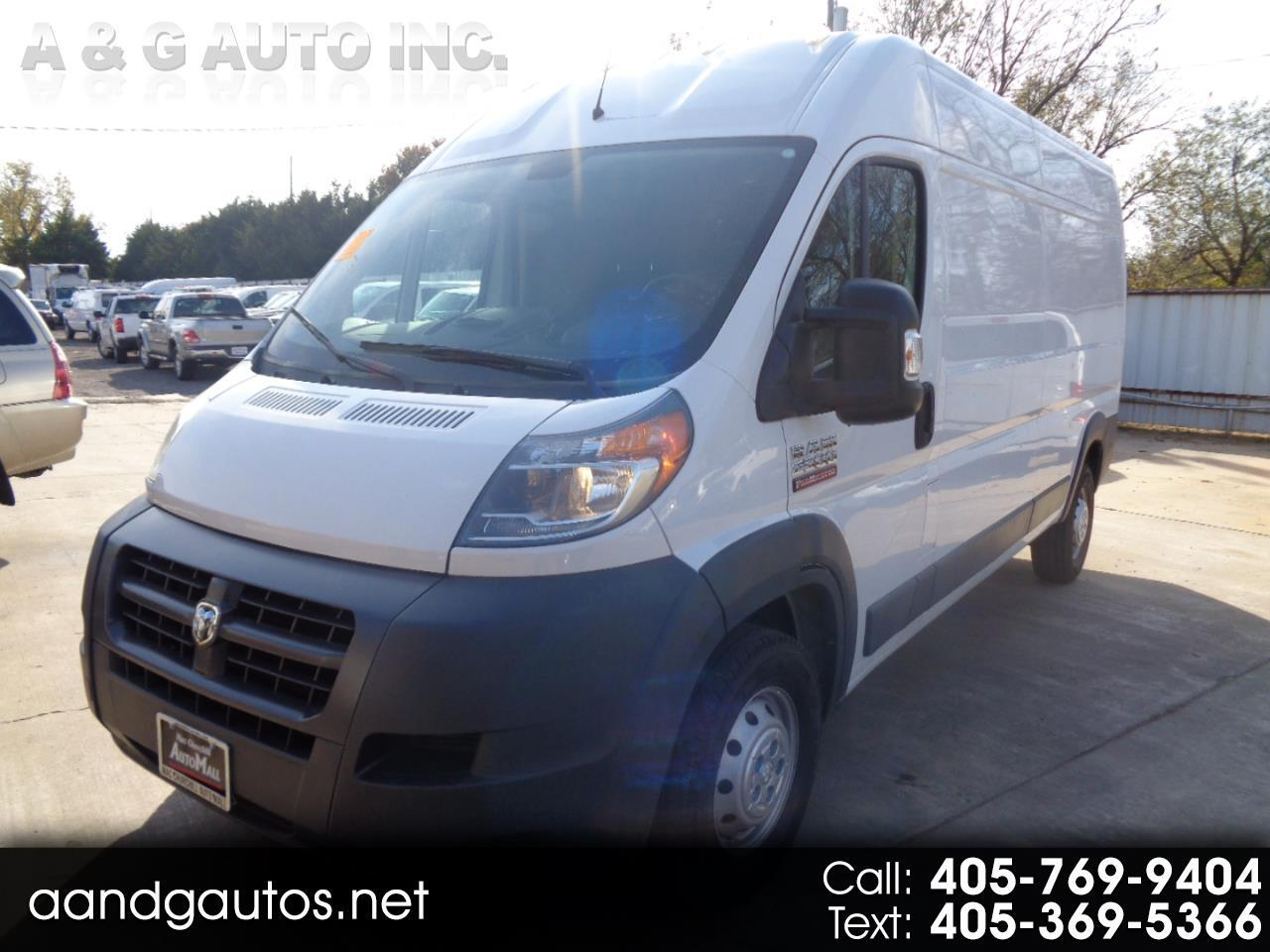 2016 Dodge Ram Cargo PROMASTER 2500 HIGH ROOF TRADMASTER 159-IN WB