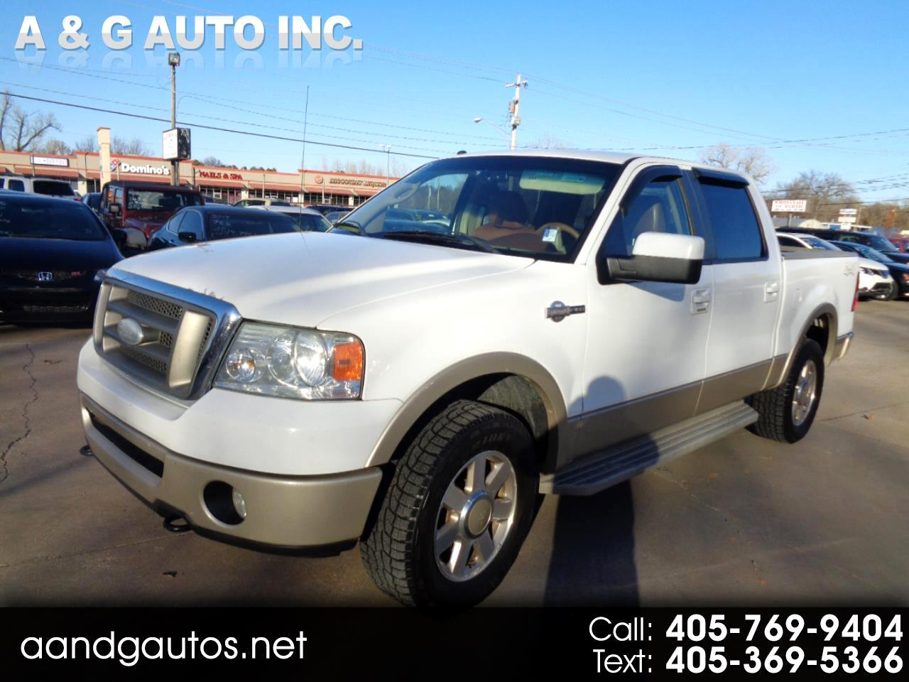 Ford F-150 King Ranch SuperCrew 4WD 2008