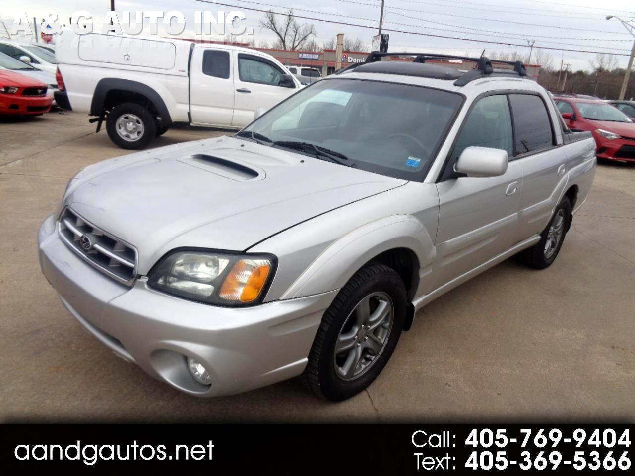 Subaru Baja Turbo 2004