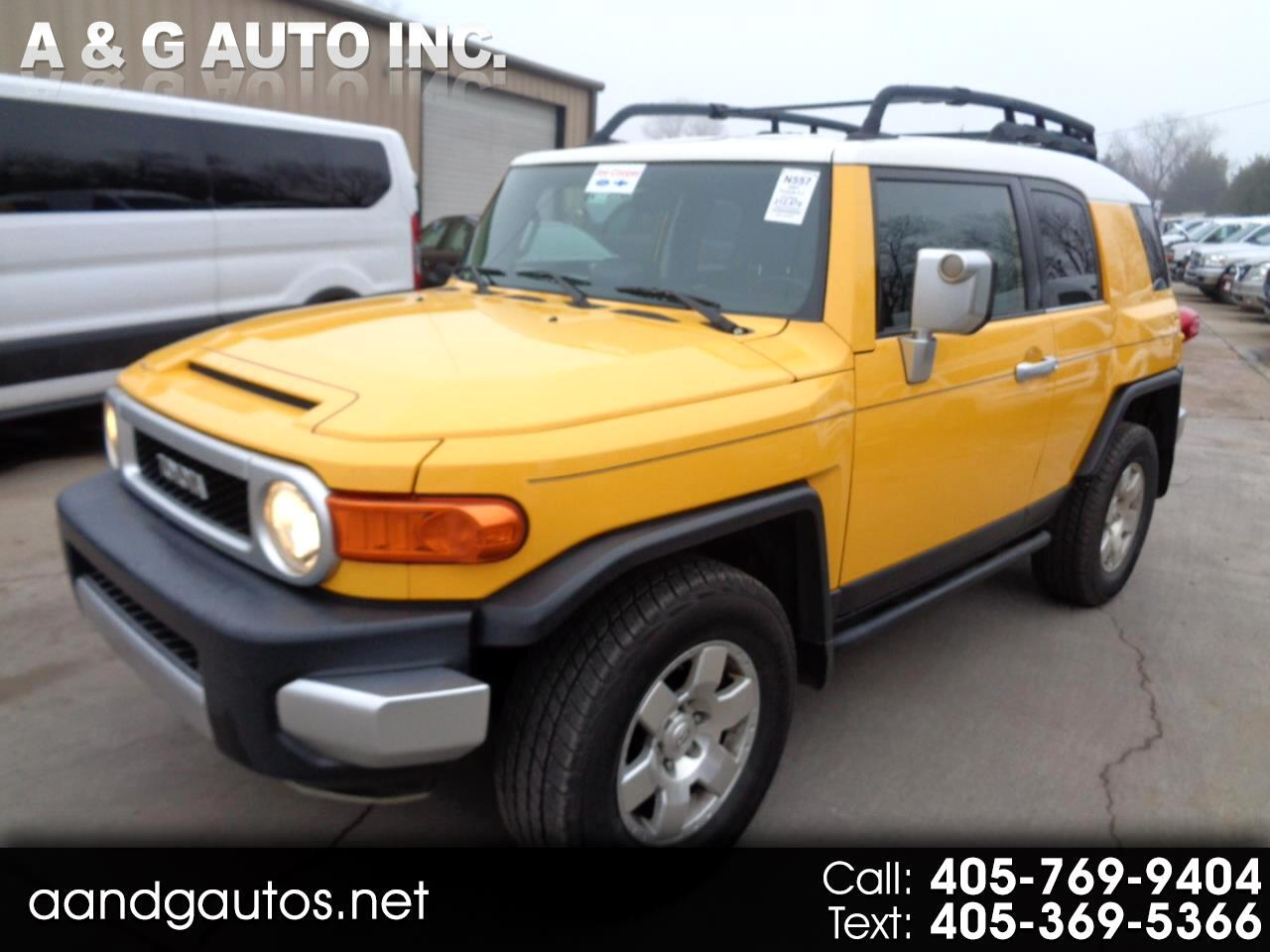 Toyota FJ Cruiser 4WD AT 2007