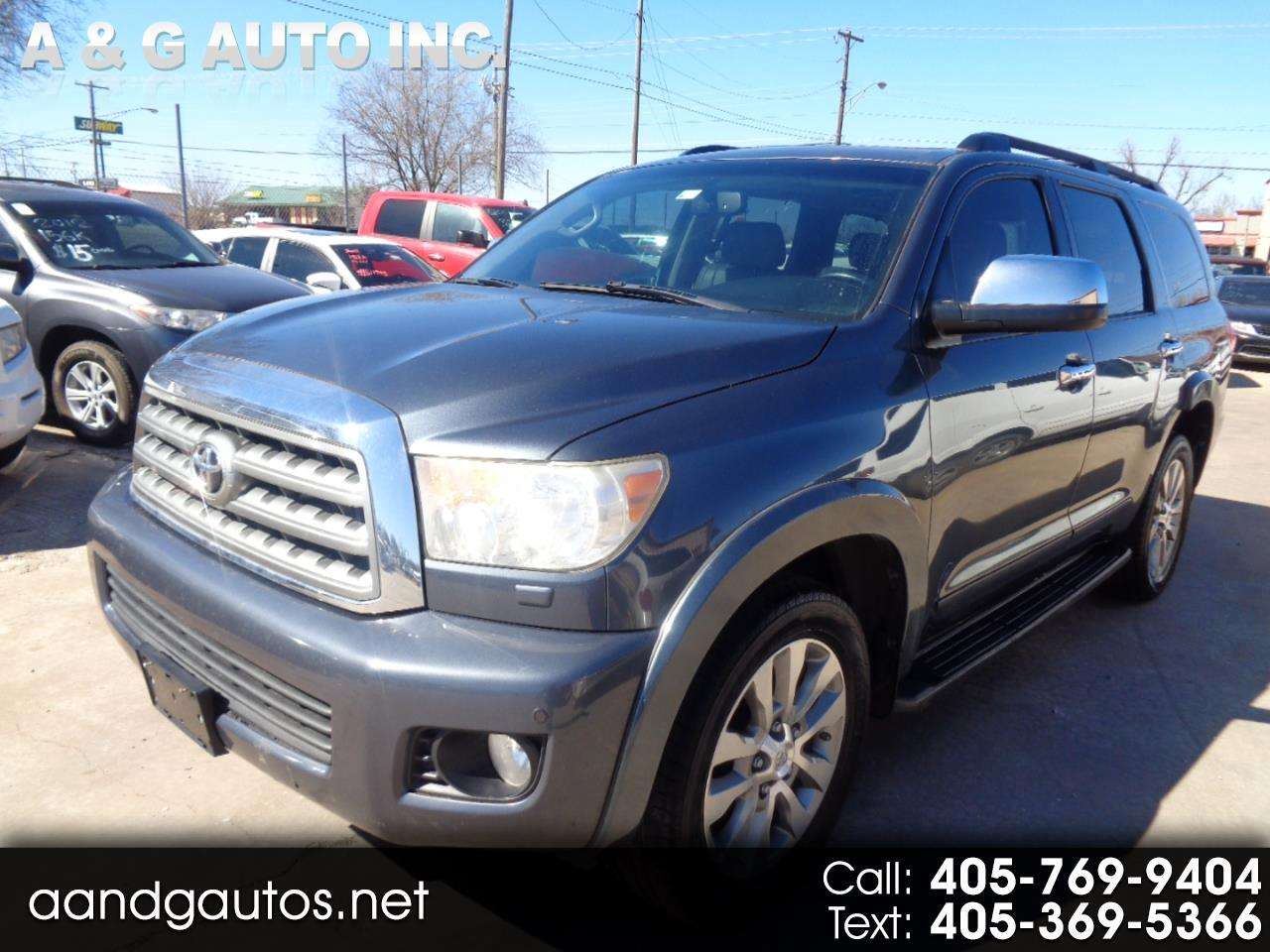 Toyota Sequoia Limited 4WD FFV 2010