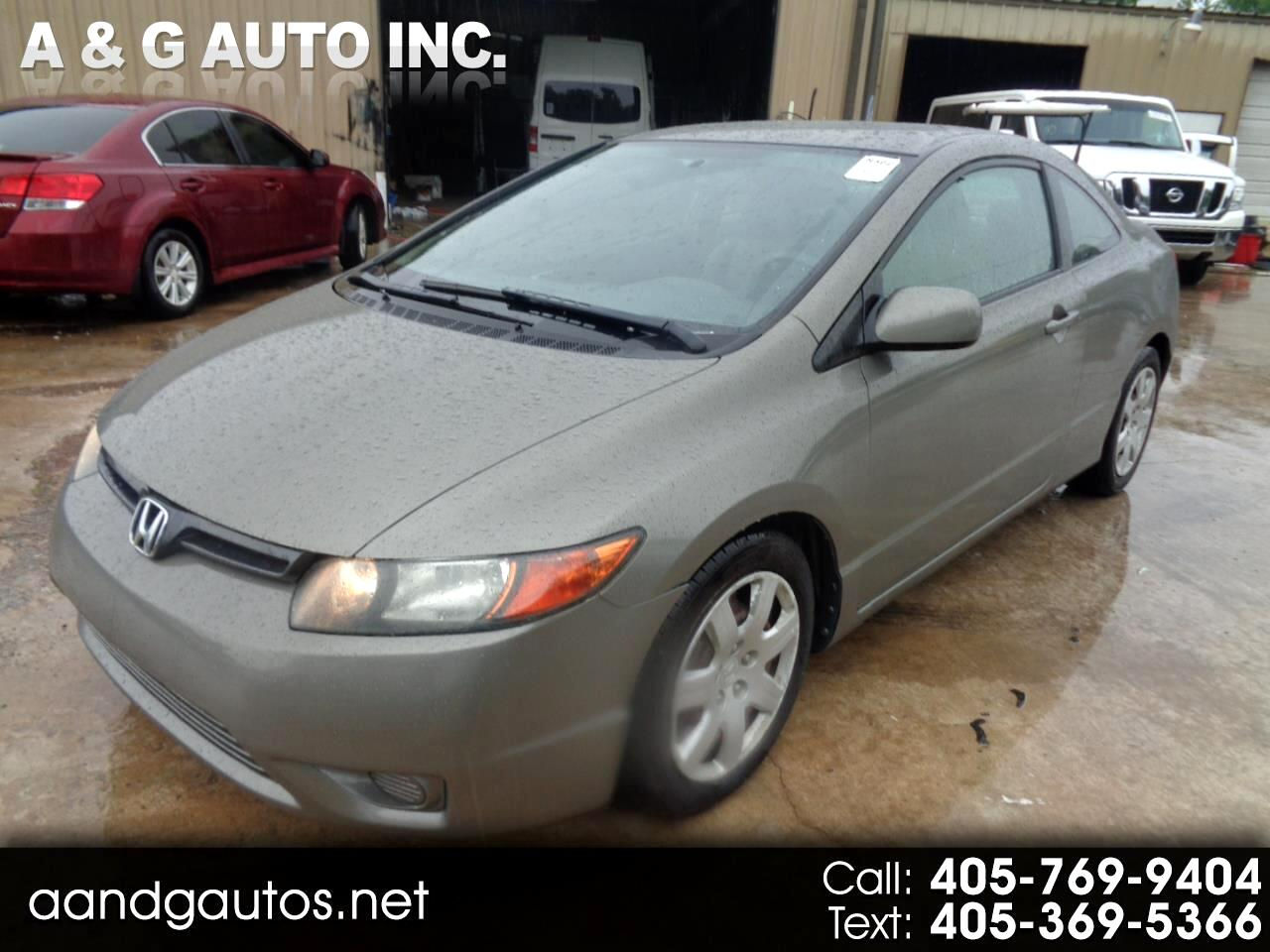 2007 Honda Civic For Sale >> Used 2007 Honda Civic In Oklahoma City Ok Auto Com 2hgfg12607h551307