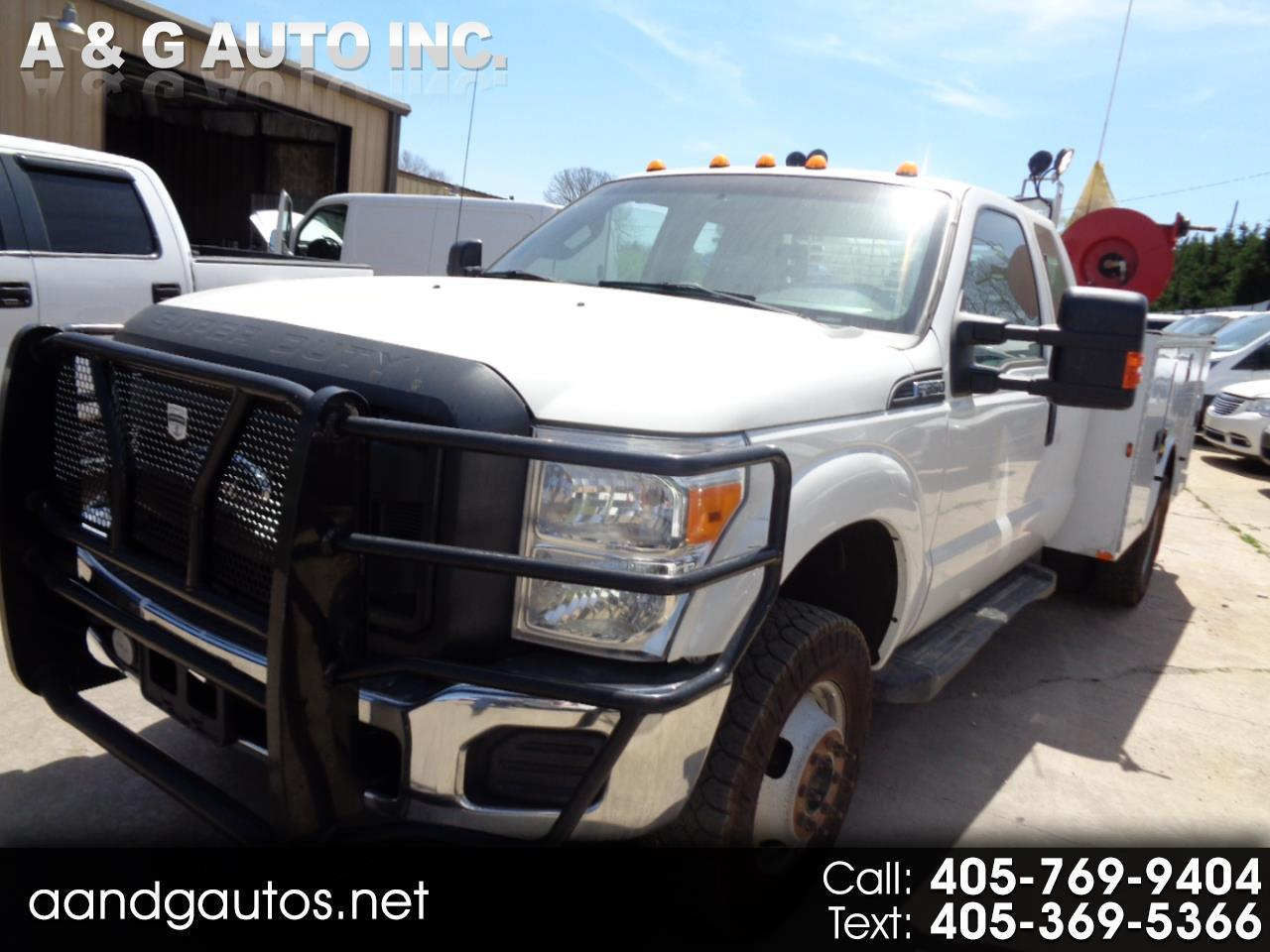 2015 Ford F-350 SD XLT SuperCab Long Bed 4WD