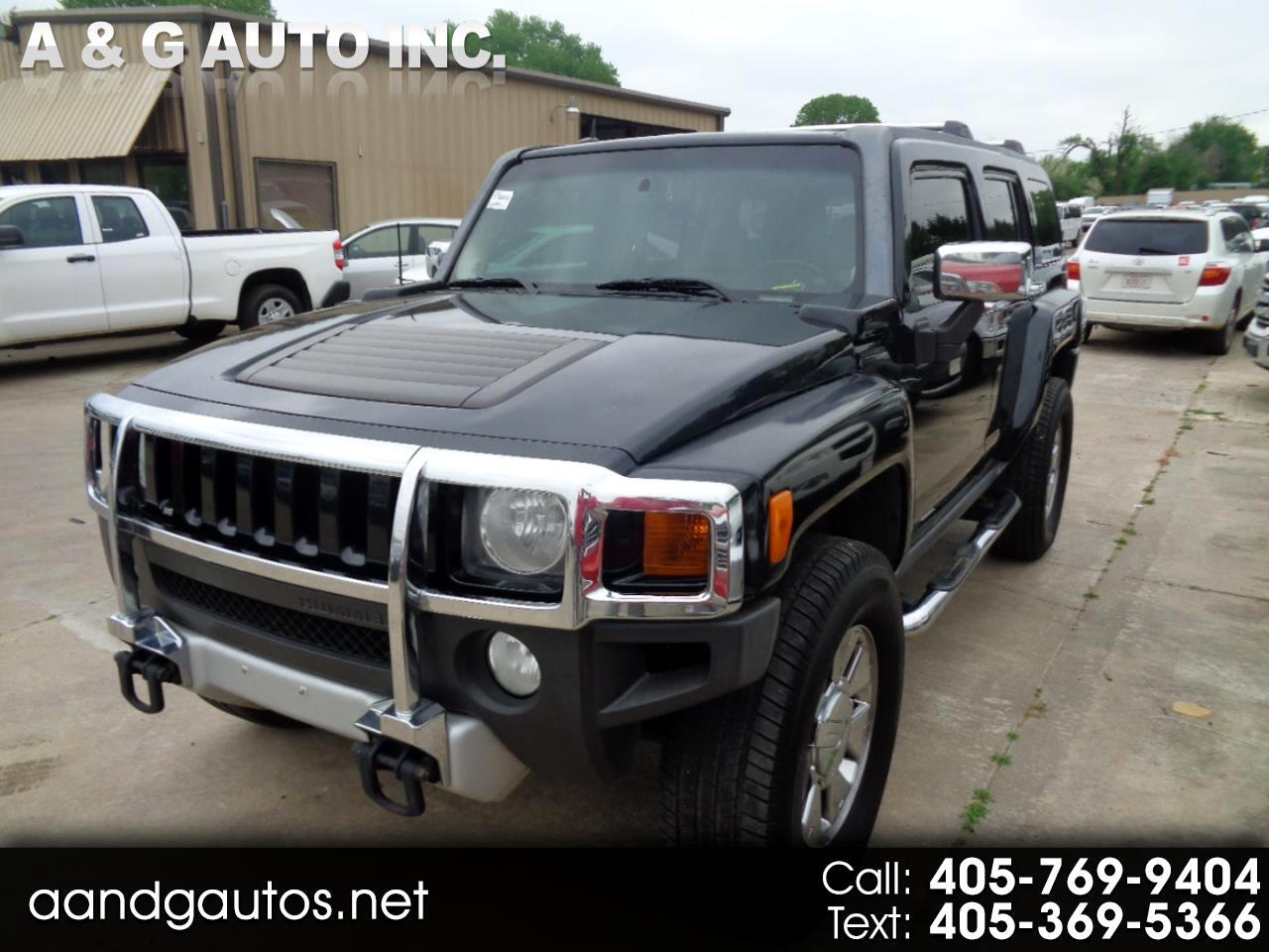 2008 HUMMER H3 4WD 4dr H3T Alpha Leather